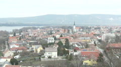 Esztergom Hungary 13 winter Stock Footage