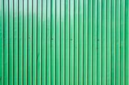 Green zinc wall Stock Photos