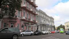 Ukraine 47 Odessa street cx Stock Footage