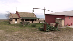 Old rural farm Stock Footage