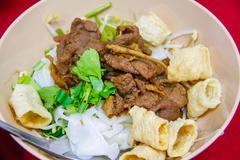 Noodles soup Stock Photos