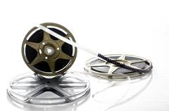 8mm Film Reels Stock Photos