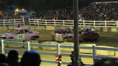 Demolition Derby 4 of 5 Stock Footage