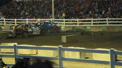 Demolition Derby 3 of 5 Stock Footage