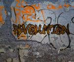 Stock Illustration of revolution graffiti