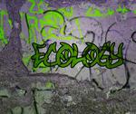 Stock Illustration of ecology graffiti
