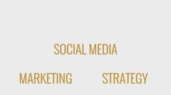 Social media marketing Stock Footage