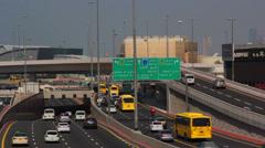UAE.Dubai.Oud Metha Road Stock Footage