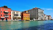 Stock Photo of grand canal in venice, italy