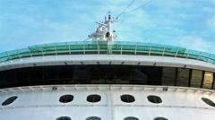 Navigation bridge radar cruise ship HD 1860 Stock Footage