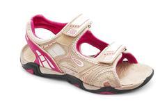 women hiking sandal - stock photo