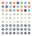 Stock Illustration of universal flat icons