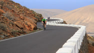Stock Video Footage of 2014 racingbike island uphill fast