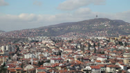 Stock Video Footage of Sarajevo view