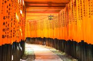 Stock Photo of fushimi inari taisha shinto shrine. fushimi ku, kyoto, japan.