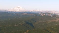 Mt. Adams - stock footage