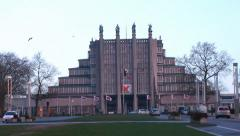 The Centenary Palace - Architecture Modern Buildings Stock Footage