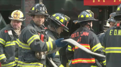 NYC Fire Dep (6 of 8) Stock Footage
