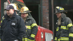 NYC Fire Dep (5 of 8) Stock Footage