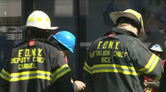 NYC Fire Dep (4 of 8) Stock Footage