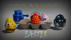 Rockin Easter Stock Footage