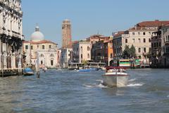 Venice River - San Geremia - stock photo