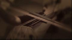 Double Bass Kielisoittimet Orchestra Soittimet (Loop) Arkistovideo