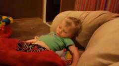 Exhausted and played out Stock Footage