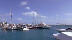 Bermuda Marina Stock Footage