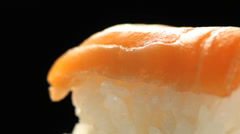 Sushis rotating Stock Footage