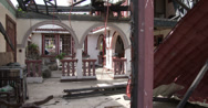 Stock Video Footage of 4K Building Destroyed By Storm Surge In Tacloban Typhoon Haiyan