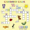 Stock Illustration of crossword color