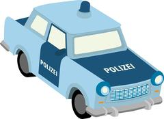 Trabant - stock illustration
