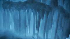 Ice castle art Stock Footage