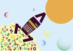 Accounting start - stock illustration