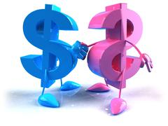 Dollar sign Stock Illustration