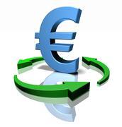 Euro sign Stock Illustration