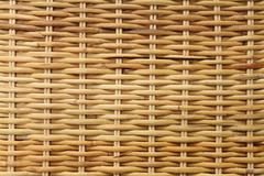 woven rattan texture backgrounds - stock photo