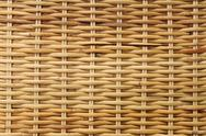 Stock Photo of woven rattan texture backgrounds