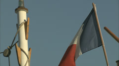 Stock Video Footage of French Flag