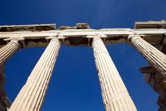 Parthenon on the acropolis Stock Photos