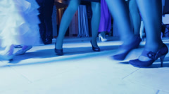 Dance floor Stock Footage
