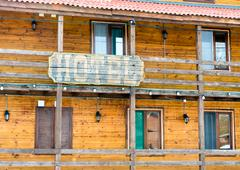 Wild West Town - Hotel Stock Photos