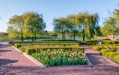 Stock Photo of Chicago Botanic Garden