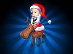 Stock Illustration of Santa Claus