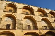 Stock Photo of arches of the mosque in cordoba