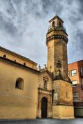 San nicolas de la villa is a church Stock Photos
