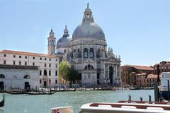 Santa Maria della Salute, Venice, Italy - stock photo