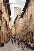 San Gimignano - Tuscany, Italy - stock photo