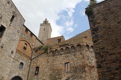 San Gimignano - Tuscany, Italy Stock Photos
